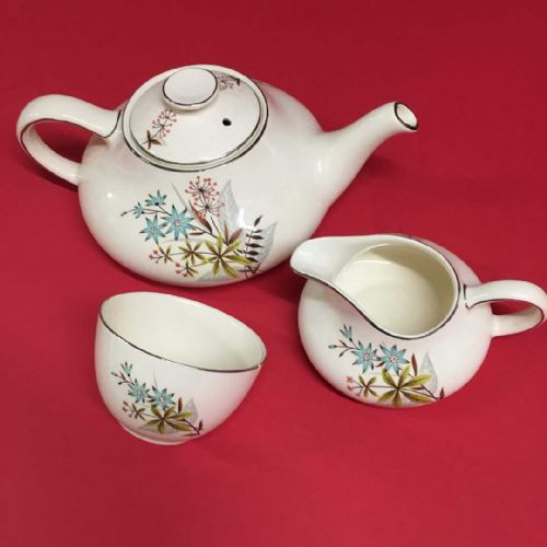 Myott - Art Deco - Tea Set - Pastoral - 1930s